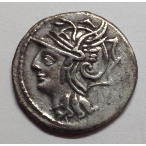 DENARIO REP. ROMANA APPULEIA
