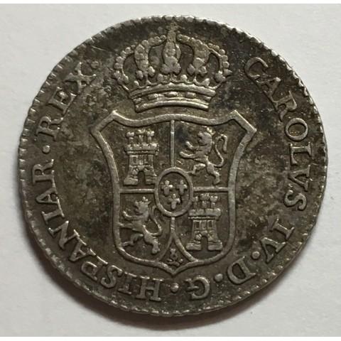 MEDALLA DE PROCLAMACIÓN CARLOS IV 1789 MADRID