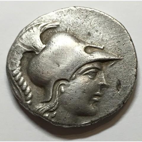 TETRADRACMA SIDE (PANFILIA 155-136 a.C.)