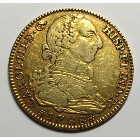 4 ESCUDOS CARLOS III 1788 MADRID