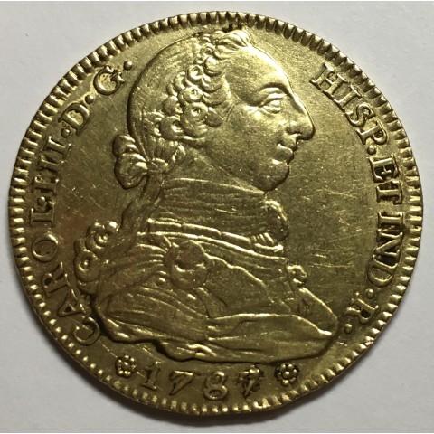 4 ESCUDOS CARLOS III 1787 MADRID