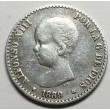 50 CENTIMOS ALFONSO XIII 1889 89*
