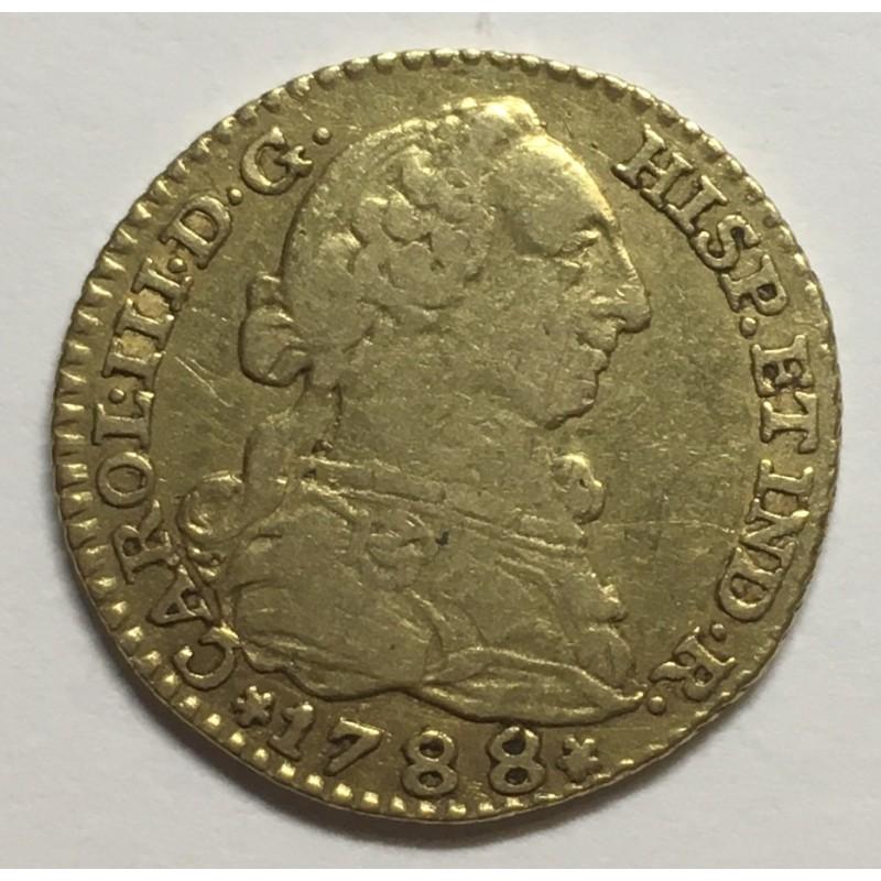 1 ESCUDO CARLOS III 1788 MADRID