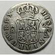2 REALES CARLOS IV 1808 MADRID