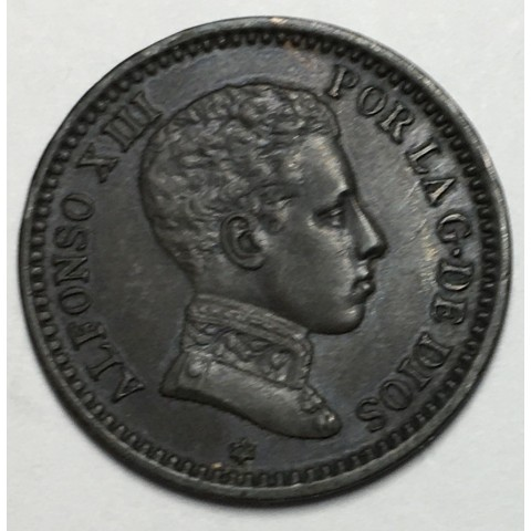 2 CENTIMOS ALFONSO XIII 1905 05*