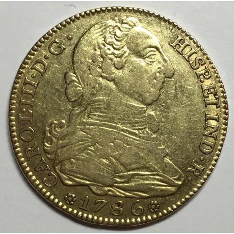 4 ESCUDOS CARLOS III 1786 MADRID