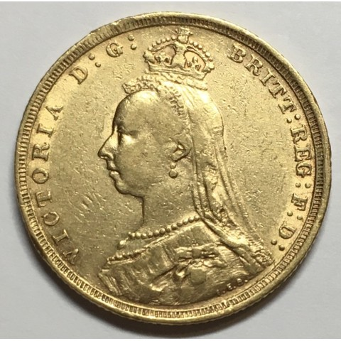 LIBRA REINO UNIDO (Australia Sidney) 1888 S