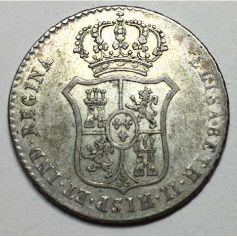 MEDALLA DE PROCLAMACIÓN ISABEL II 1833 MADRID (circulo como 2 reales)