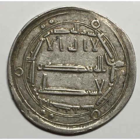 DIRHAM ABBASÍD   AL-MAHDI  AL-MUHAMMADIYA