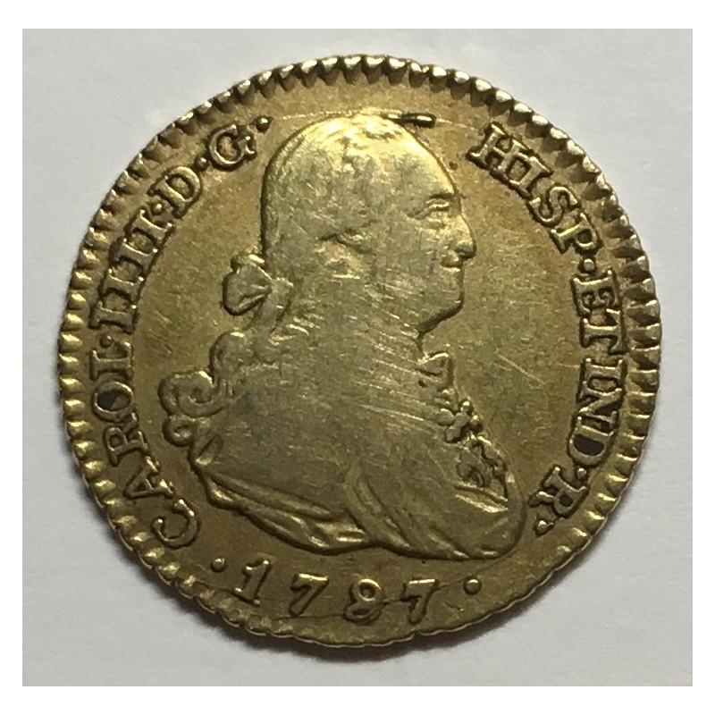 1 ESCUDO CARLOS IV 1787 MADRID