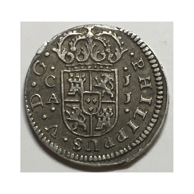 1/2 REAL FELIPE V 1719 CUENCA