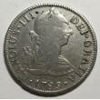 2 REALES CARLOS III 1789 MEJICO