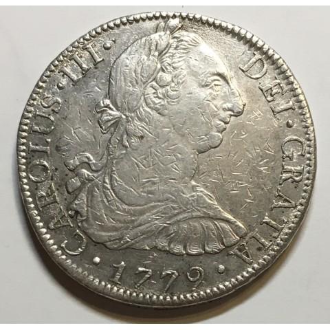 8 REALES CARLOS III 1779 MEJICO
