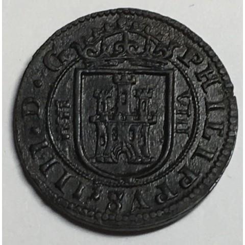 8 MARAVEDIS FELIPE IV 1626 SEGOVIA