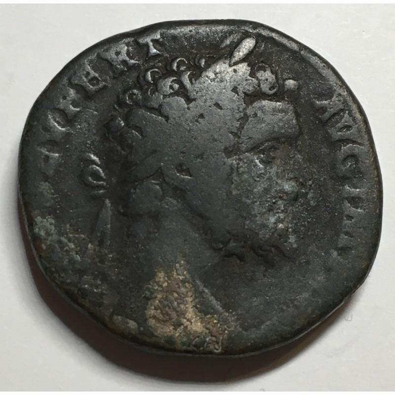 SESTERCIO SEPTIMIO SEVERO (las 3 monedas) RARA