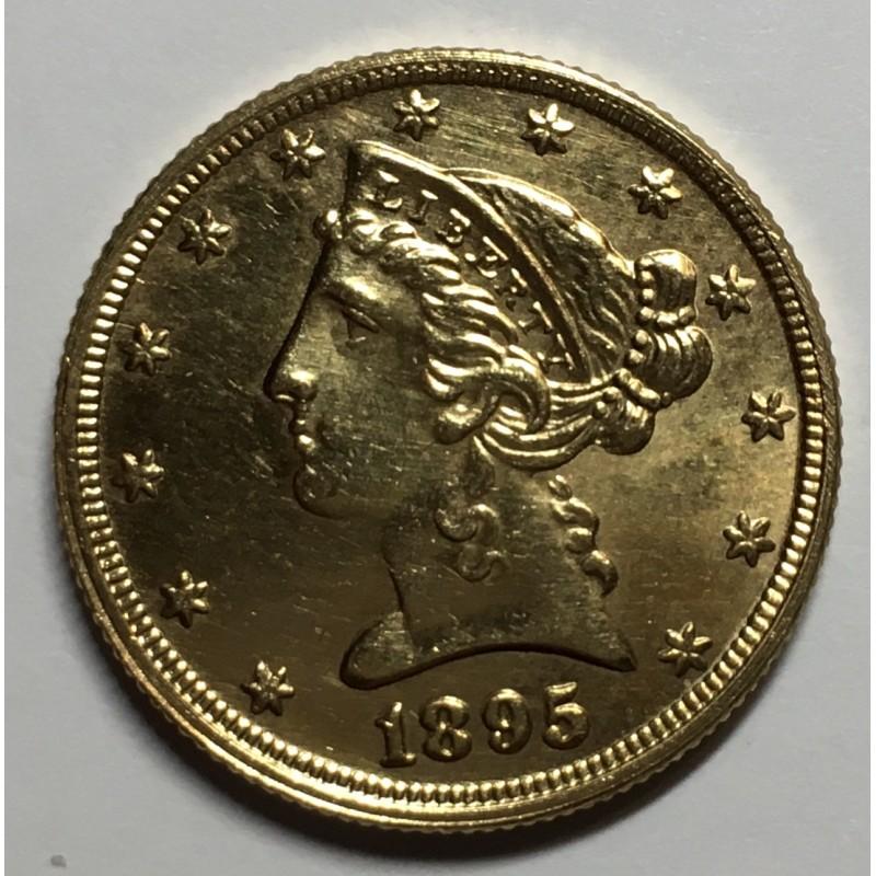 5 DOLARES USA 1893