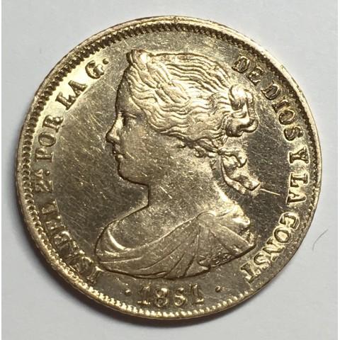 100 REALES ISABEL II 1861 Sevilla