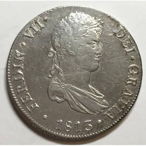 8 REALES FERNANDO VII 1813 LIMA