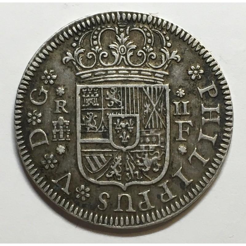 2 REALES FELIPE V 1723 SEGOVIA