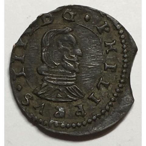 8 MARAVEDIS FELIPE IV 1661 MADRID