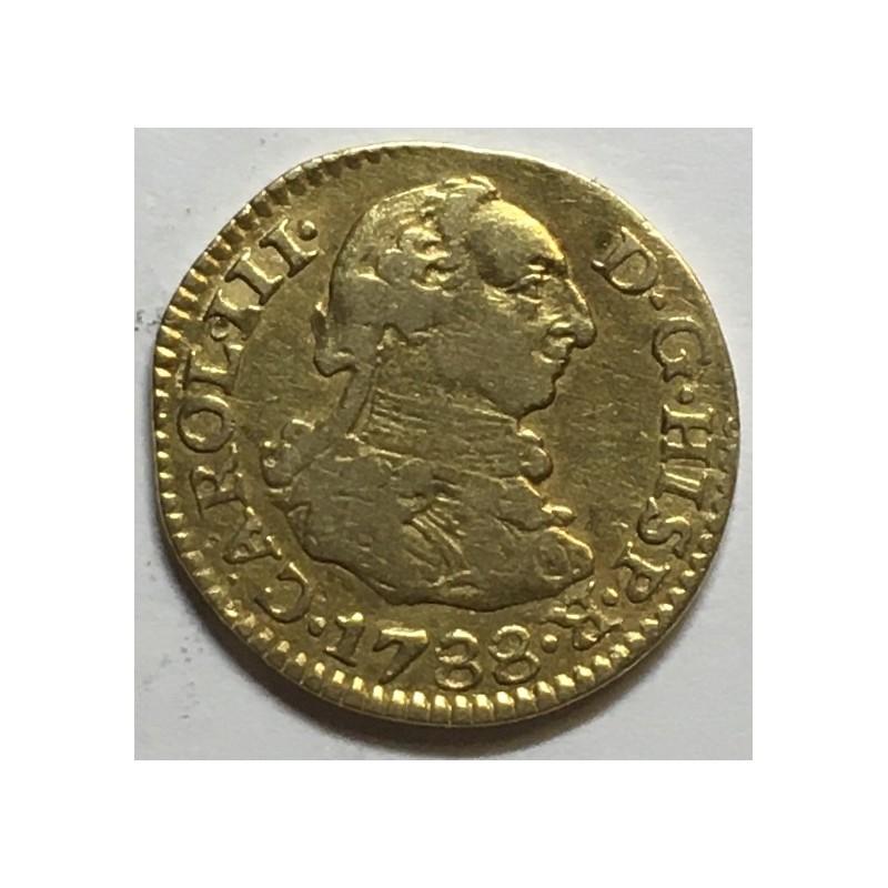 1/2 ESCUDO CARLOS III 1788 SEVILLA