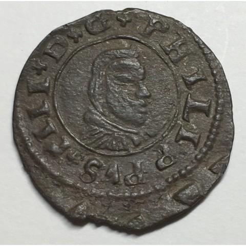 16 MARAVEDÍS FELIPE IV 1662 CORUÑA