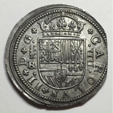 4 REALES CARLOS II 1684/3 SEGOVIA