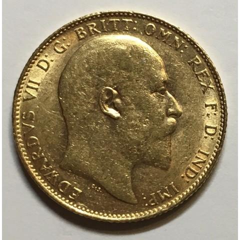 1 LIBRA - SOBERANO EDUARDO VII 1904