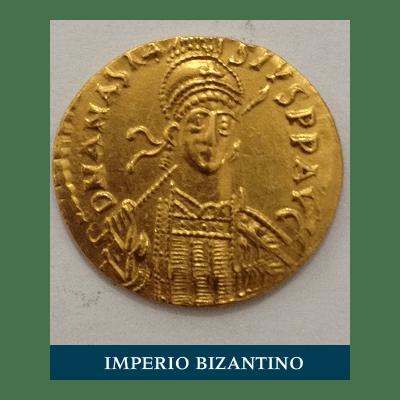 Moneda imperio bizantino