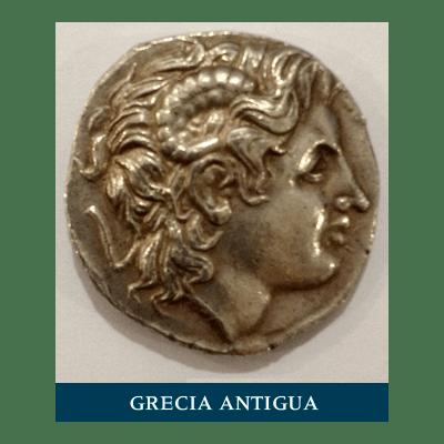 Moneda antigua Grecia
