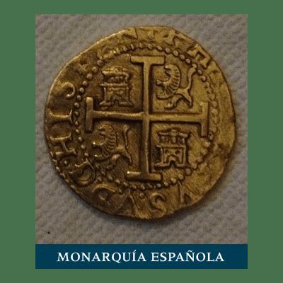 Moneda monarquía española
