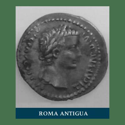 Moneda roma antigua